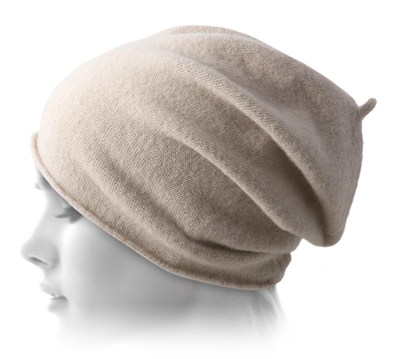 bonnet laine fine Light woollen