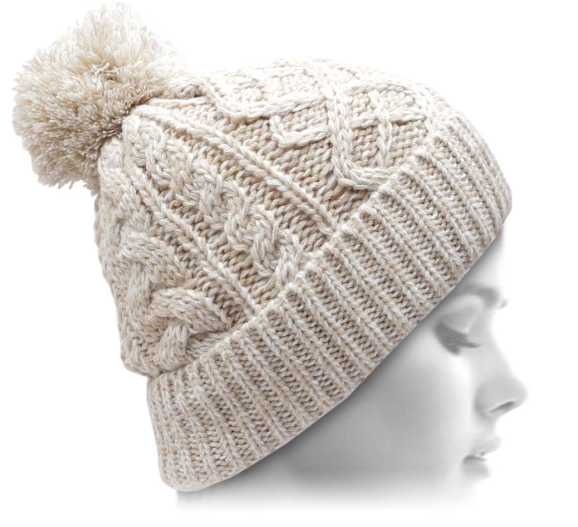 bonnet pompon creamy bonnet. Black Bedroom Furniture Sets. Home Design Ideas
