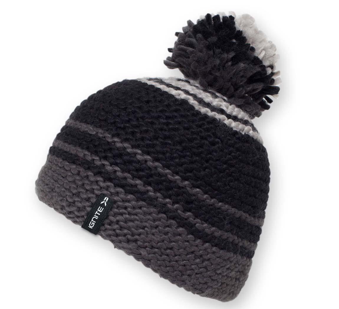 bonnet pompon 4 tune noir bonnet. Black Bedroom Furniture Sets. Home Design Ideas